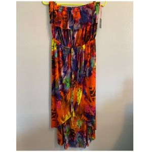 Cynthia Rowley Tropical Maxi Dress